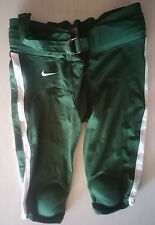 Mens Nike Stock Integrated Knee Pads Green/White Football Pants Large