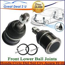 2 Lower Ball Joints For Honda Civic Acura Integra Del Sol CRV Front L&R K9802