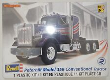 New Revell Peterbilt Model 359 Conventional Tractor 1:25 Scale Historic Series