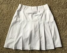 BETTE & COURT White SKORT size XS skirt/shorts  Golf/Tennis PLEATED  B7