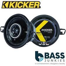 """KICKER DSC3504 3.5"""" 160 Watts a Pair Car Van Truck Door Coaxial Speakers"""