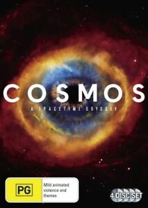 A Cosmos - Spacetime Odessey (DVD, 2014, 4-Disc Set), NEW SEALED REG 4 lot 305