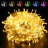 Outdoor Christmas Fairy String Lights 10-500LEDs Wedding Xmas Party Holiday Tree