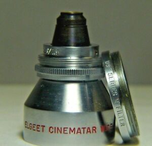 ELGEET Cinematar WIDE-ANGLE Lens for Brownie 1.9 Screw Mount Use Series V Filter