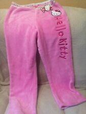 Hello Kitty Sleepwear Pink PJs Pajama Pants gift cute new soft