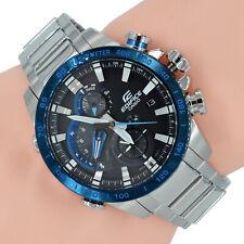Casio Edifice Herrenuhr EQB-800DB-1AER Bluetooth Solar Uhr Schwarz Armbanduhr