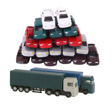 52Pc Container Truck Transporter Truck Lorry Vehicle Car Model 1:150 N Scale