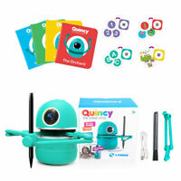 Quincy the Robot Artist/Robot Toy Math, Spelling, Activity Book Kids 2020