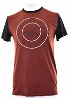 HOLLISTER Mens Graphic T-Shirt Top Medium Red Cotton  MR17