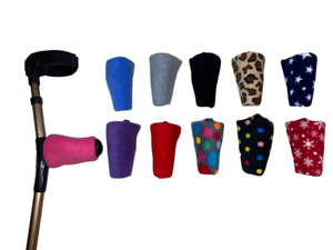 Ergonomic Crutch Handle Covers Palm shaped Crutches Padded Comfy FREE 1st P&P