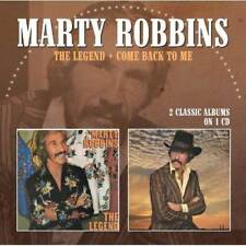 Marty Robbins - The Legend / Come Back To Me (NEW CD)
