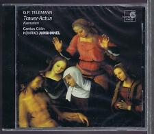 TELEMANN CD NEW TRAUER-ACTUS CANTUS COLLN JUNGHANEL