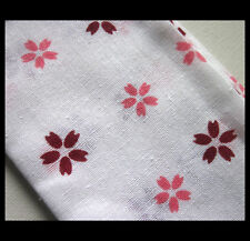 Japanese Sakura Pattern Thin Cotton Towel / Table Cloth