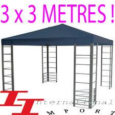 PAVILLON 3x3 Tente de Fête pergola veranda tonnelle NEW