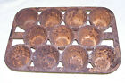 """Antique USN 1800's Muffin Tray """"Eagle Hope Ark"""" Navy Old Vintage Iron Cookware"""