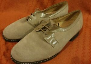 Church Glovemocs Caroline suede shoes womens uk size 7 size 75