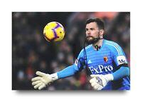 Ben Foster Hand Signed 6x4 Photo Watford Goalkeeper Autograph Memorabilia + COA