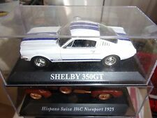 MACCHINA FORD MUSTANG SHELBY 350 GT DREAM CARS DI AGOSTINI 1/43 ° NUOVO