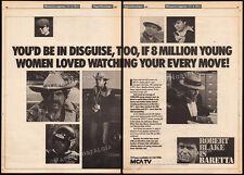 BARETTA__Original 1980 Trade print AD / TV series promo / poster__ROBERT BLAKE