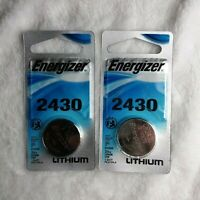 Energizer CR 2430 Lithium Coin 3V Battery New