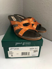 Paul Green Heels Babe Mango Shoes Size 8 Brown 6608-341 Nordstrom