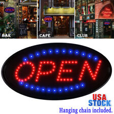 Ultra Bright Neon Animated Led Business Sign Open Light Bar Store Shop Display