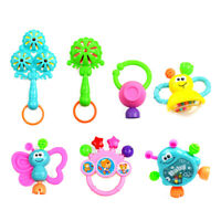 7Pcs Baby Rattle Toys Musical Instruments Hand Shaker Jingle Ball Toy Set