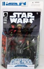 DARTH TALON & CADE SKYWALKER - Hasbro Star Wars Comic Packs Figure Set