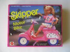 1989 Barbie Skipper Motor Bike Nrfb