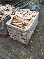 gesägtes Brennholz Anmachholz Kaminholz Ofenholz Feuerholz