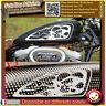 2 stickers autocollant reservoir moto custom bobber chopper shark shoes skull HD
