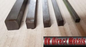 Stainless steel Square Bar 304(1.4301) 6,8,10,12,16,20,25mm Free P&P & Cutting