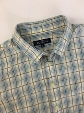 The Original Ben Sherman Long Sleeve Shirt Mens Size 4XL XXXXL Plaid