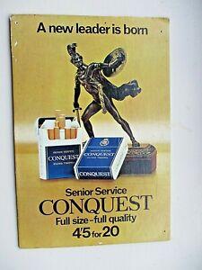 Cardboard Advertising board SENIOR SERVICE CONQUEST 4'5 for 20