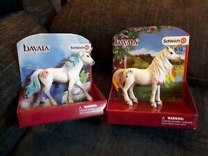 Schleich Bayala Unicorns X 2. 70571 & 70524. NEW.