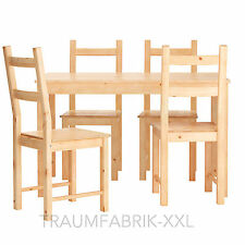 Ikea dining area Table Group Room esszimmergarnitur Chair Pine Solid