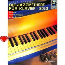 Die Jazzmethode für Klavier Solo - Noten für Klavier (+CD +Notenklammer) 8258