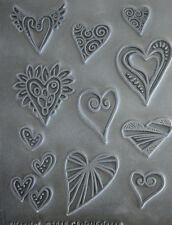 Hearts  texture stamps by Christi Friesen newest stamps