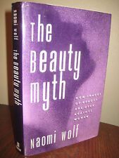 1st/1st Printing THE BEAUTY MYTH Naomi Wolf FEMINISM Classic RARE First Book