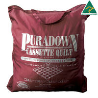 Puradown 50/50 Duck Down Doona|Quilt|Duvet SUPER KING|KING|QUEEN|DOUBLE|SINGLE