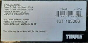 GENUINE Thule Fitting Kit 3006