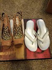 women lot of 2 designer shoes jessica simp , Kenneth cole size 6&6.5 shoes