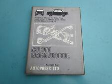NSU 1000 1963-70 utilisé Auto livre de pièces de projet
