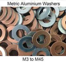 Aluminium Metric Sealing Washers - M3 to M45 - Industrial, Home & DIY Use