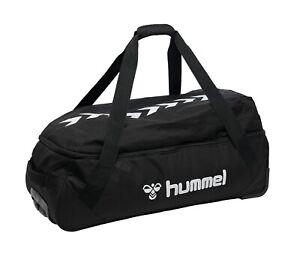 hummel Core Trolley S Trolley Reisetasche Sporttasche Tasche Black Schwarz Neu