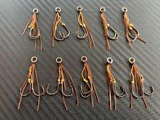 10x Stinger Assist Hooks Vibes Blades Shrimp for Ecogear ZX VX Vibe Blade Metal