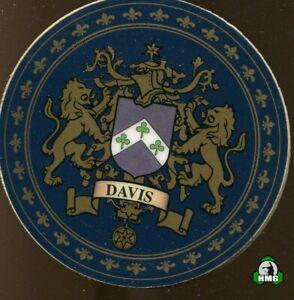 English Heraldic Coaster: Davis (Type 2)
