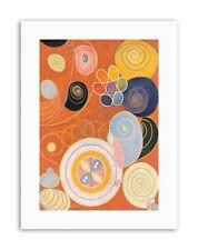 Moderne Mâchoires AF Klint Abstract Poster Photo Peinture Toile Art Prints