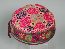 hand embroidered Women's Caps and Ceremonial Headdress Gilgit-Baltistan No:21/i