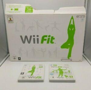 Nintendo Wii Balance Board inkl. Wii Fit & Wii Fit plus mit OVP